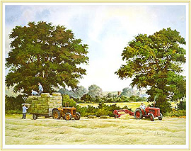 Golden Days - a classic Farming Picture - click for details