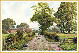 Top Meadow - a classic Farming Picture - click for details